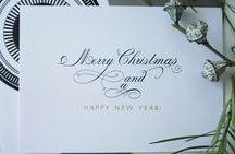 Weihnachtskarten / Hochwertige Weihnachtskarten mit Blind- und Folienprägungen geprägt. Es können auch Prägungen mit eigenen Designwünschen hergestellt werden.