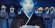 Blue & Turquoise Art 3
