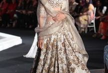 Manish Malhotra Lakme Fashion Week Winter/Festive 2016 / Manish Malhotra has cemented his reputation as one of the leading figures in the bridal industry. His Lakme Fashion Week 2016 collection was all about ballroom glamour. His lehengas, with their gown-like look, are ideal for a bride looking out for high drama-meets-Bollywood glamour. Bridelan - Personal Shopper, Style and Luxury Consultants for Indian/NRI Weddings. Website www.bridelan.com