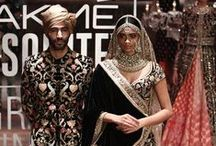 Sabyasachi Lakme Fashion Week Winter/Festive 2016 / The new Sabyasachi bridal collection is for the discerning bride: 1. The bride who has a mind of her own.  2. She loves traditional and glamour in equal parts. 3. She's global in spirit and loves high fashion. 4. She believes in 'India Regal' as a brand and wants to look like a Hindustani maharani on her D-day. 5. Sparkle and shine but on her own terms. Spectacular and sophisticated.  Bridelan - Personal shopper & style consultants for Indian/NRI weddings, website www.bridelan.com