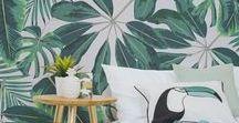 Viva a Tropicalia! / Inspirações de decoração tropicalista