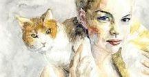 Women & Cats 10 / ART
