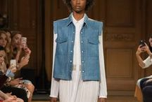 PFW Spring 2017 / The best looks from Paris Fashion Week Spring 2017....by our fave female designers. We're keeping a close eye on runway diversity in these shows as well, be sure to check out our observations in the pins!