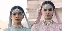 Kishandas & Co. Jewellery for Sabyasachi / Contrary to popular belief, Sabyasachi is not just one the best designer for the wedding lehenga. He has and will always be one the top Indian designer for a bride's every need such as the cocktail outfit, engagement, sangeet and reception. Just like all his signature bridal collection, elegance and timelessness are his recurring signature. Shop for your bridal trousseau with Bridelan.
