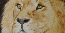 Lions in art