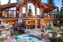 Cabin-Lodge Homes