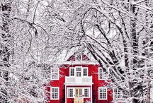 Magical Winter / These pictures makes me want to run home and cuddle my family (loved ones)