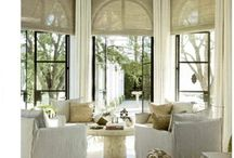 window treatments / by Leaf Design Studio