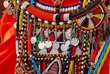 African Beads, Beaded Artifacts and Adornments / This board is for African beads, artifacts and adornments.