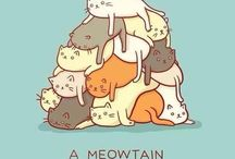 kitties   :-D / by Lacy Mercer