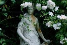 SCROLL THROUGH MY VIRTUAL GREEN AND  WHITE GARDEN / by Deborah G.