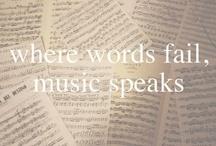 where words fail, ♫ speaks.