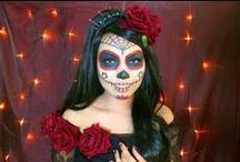 Halloween and Day of the Dead / Spookiness and Deliciously Creative Food Treats... or are they Tricks?