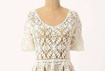 Clothes with crochet details