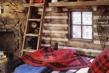 cozy canadian cabin bedroom