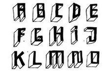 Hand Made Type Design / Just Type we draw sometimes.