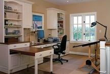 Trade Territory / Home Office / Workspace & Sewing Room Organization  / by Katy Jenks