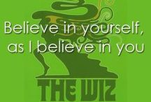 """Take me to the Wiz / """"If we know ourselves we are always home anywhere"""". Past, Present & Future take me to the Wiz."""
