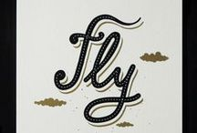 Type Card / 2 colors - Silkscreen postcard with only type design. © Guillaume Beinat