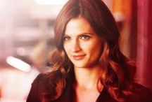 Stana / Absolutely love her as Kate Beckett on Castle.  Her beauty and style is classic and amazing.