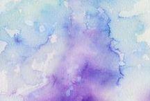 brush :: watercolor :: ink