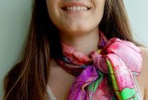 Scarves and Shawls / Hand-picked collections of unique scarves and shawls with quirky prints and great designs.