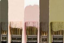 Borka's bedroom color palette