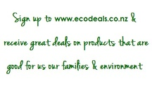 EcoDeals  / www.ecodeals.co.nz - Great deals on products that are good for us, our families & the environment
