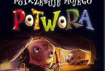"""Duchy i potwory / Książki w których występują straszne stwory, czyli dla dzieci """"horrory""""."""