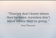 Travel Inspiration / Be inspired by the beauty of travel