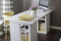Arbeitszimmer / Office / Je schöner das Büro, desto mehr Spaß macht die Arbeit! / Working spaces with fun!