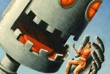 Bots, Droids + Monsters
