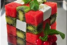 Food: Salads / Salad recipes and ideas