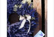 My Lavender Handmade / Here you can find my ideas of using lavender as a home decor.