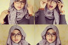 Hijab tutorial / some ideas how to be a modern modestly hijabster.