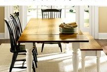 CBF | Dining Room / Our favorite Casco Bay Furniture dining room pieces...