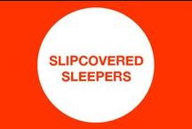 CBF | Slipcovered Sleepers / Our slipcovered Casco Bay Furniture Sleeper pieces...