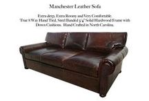 Manchester / The Manchester & Petite Manchester Leather Collection by Casco Bay Furniture...