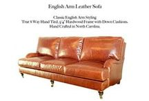 English Arm / The English Arm Leather Collection by Casco Bay Furniture...