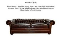 Windsor / The Windsor Tufted Leather Collection by Casco Bay Furniture...