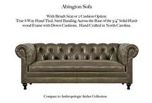 Abington / The Abington Tufted Leather Collection by Casco Bay Furniture...