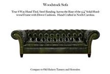 Woodstock / The Woodstock Tufted Leather Collection by Casco Bay Furniture...