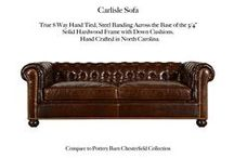 Carlisle / The Carlisle Tufted Leather Collection by Casco Bay Furniture...