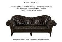 Crew Club / The Crew Club Tufted Leather Collection by Casco Bay Furniture...