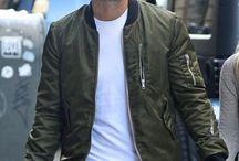 bomber jacket / Bomber Jacket |  Menswear | Mensstyle | Mensfashion
