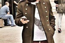 military padded jacket / military padded jacket | Menswear | Mensstyle | Mensfashion