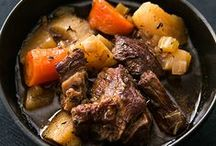 Food: Meat / Meats - pork, lamb, venison/game, offal and beef meal recipes and ideas