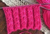 Kötött munkák - Knitting patterns
