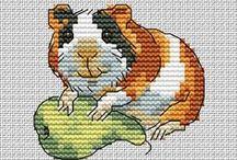 Keresztszemes varrás - cross stitch sewing