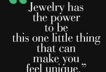 Jewellery quotes / Inspirational quotes about jewellery